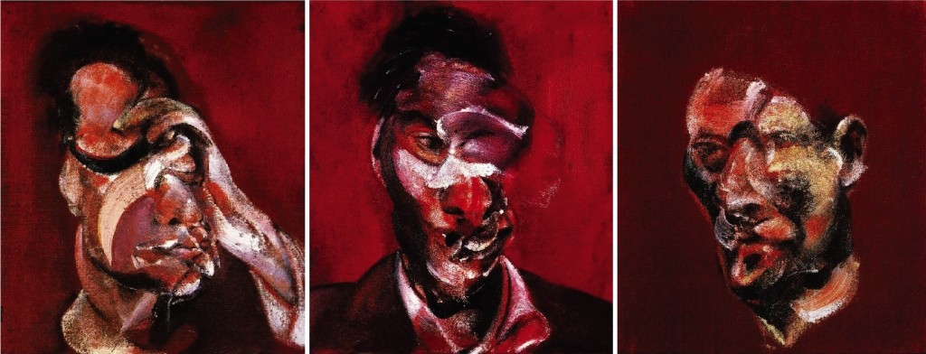 of studies francis bacon Francis bacon's three-paneled painting 'three studies of lucian freud' became the most expensive work of art ever sold at auction on tuesday when it.