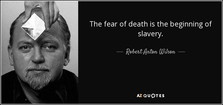 the universal fear of death essay Free essays essay on theme of death in white noise essay on theme of death in white noise jack uses his credit to create a sense of power over his fear of death.