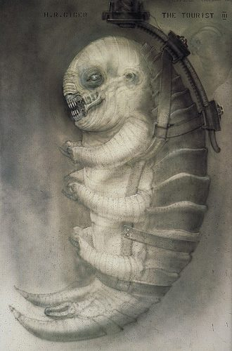 Giger-The_Tourist_III_Hanging_crab-alien