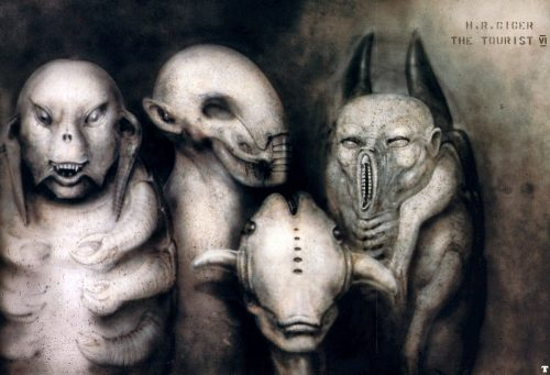 Giger-The_Tourist_VI_Some_alien-heads